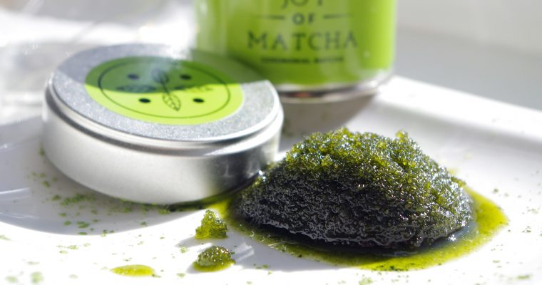 MATCHA & PEPPERMINT BODYSCRUB DIY